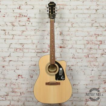 Epiphone AJ-100CE (Adv. Jumbo) Acoustic Electric Guitar Natural x8885