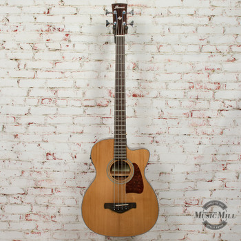 Ibanez AVCB9CE-NT Acoustic/Electric Bass Natural (USED) x3549