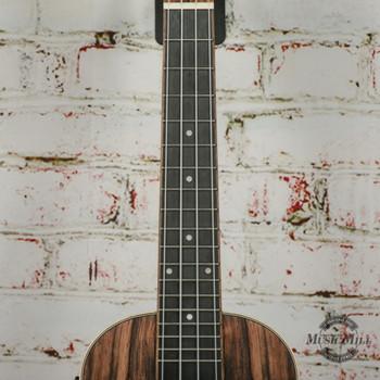Amahi Snail Ebony Concert Acoustic/Electric Ukulele x4496