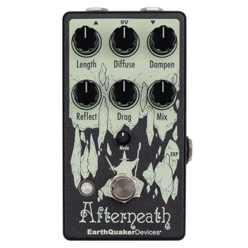 EarthQuaker Devices Afterneath V3 - Reverb Pedal