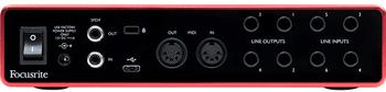 Focusrite SCARLETT8I63G Scarlett 8i6 (3rd Gen) USB Audio Interface