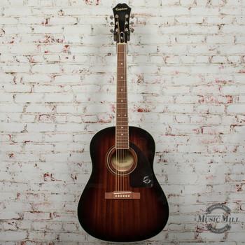 Epiphone AJ-220S Acoustic Guitar Mahogany Burst x1853