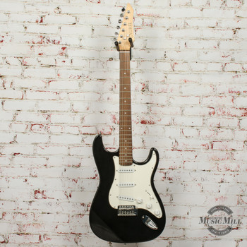 Laurel Solid-Body Electric Guitar Black x7239 (USED)