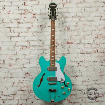 Epiphone Casino Hollowbody Electric Guitar Turquoise x1156