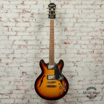 Epiphone ES-339 Pro Hollowbody Electric Guitar Vintage Sunburst x5711