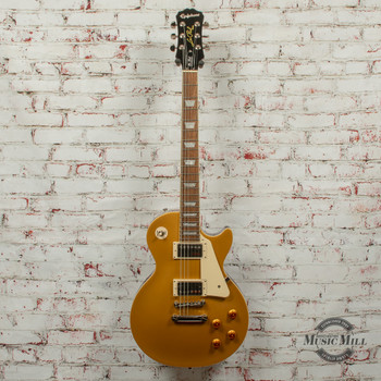 Epiphone Les Paul Standard Electric Guitar Metallic Gold x7535