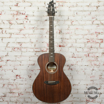 Breedlove Stage Concert E Limited Edition Acoustic/Electric Guitar Mahogany Satin x5872