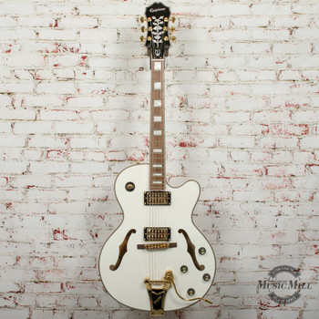 Epiphone Emperor Swingster Archtop Electric Guitar White Royale x0884