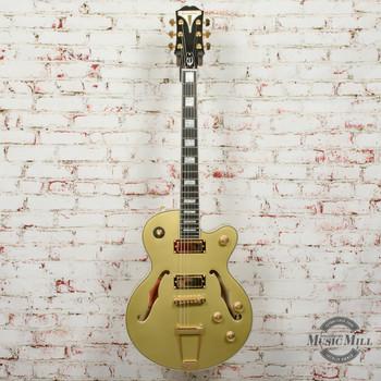Epiphone Uptown Kat ES Electric Guitar Hollowbody Topaz Gold Metallic x4053