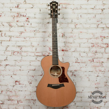 Taylor 512ce V-Class Acoustic Electric Guitar - Natural x9068 (DEMO)