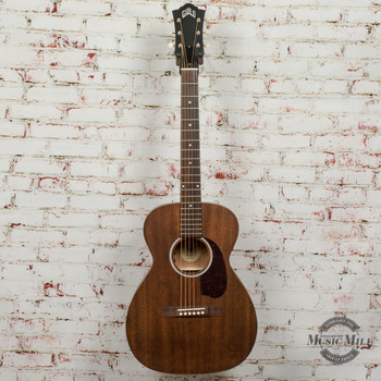 Guild USA M-20E Acoustic Electric Guitar - Natural x5574