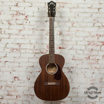 Guild USA M-20E Acoustic Electric Guitar - Natural x5432