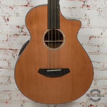 Breedlove Solo Jumbo Fretless Acoustic Bass CE Red Cedar-Ovangkol x1805