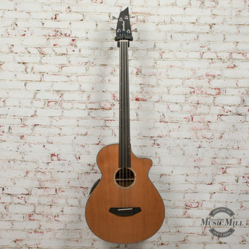 Breedlove Solo Jumbo Fretless Acoustic Bass CE Red Cedar-Ovangkol x1805