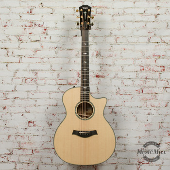 2018 Taylor 814ce Cocobolo LTD Acoustic Electric Guitar - Natural Lutz Spruce x0051 (USED)
