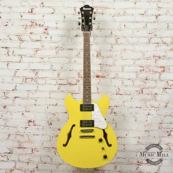 Ibanez AS63LMY AS Artcore Vibrante Hollow Body Electric Guitar Lemon Yellow x1565