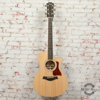 Taylor 412ce Grand Concert Acoustic Electric Guitar Natural x8036 (USED)