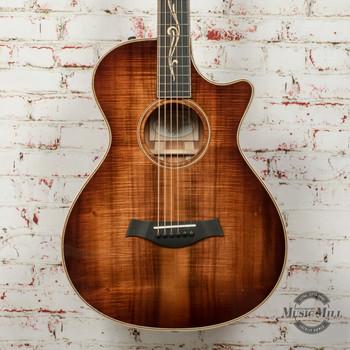 Taylor K22ce 12-Fret Acoustic Guitar Shaded Edge Burst x8088 (USED)