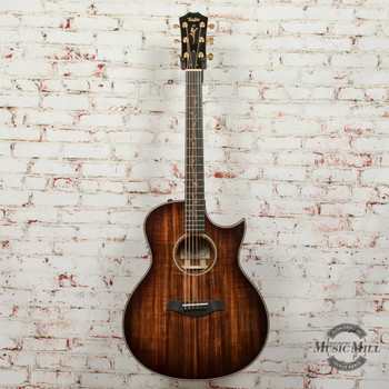 Taylor K26ce Grand Symphony Cutaway Acoustic Electric Guitar Hawaiian Koa w/HSC x7007 (USED)