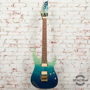 Ibanez High Performance RG420HPFM Electric Guitar Blue Reef Gradation x4612