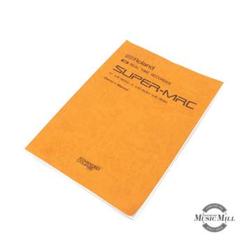 Vintage Roland Super MRC Manual (USED) x7093