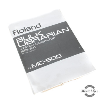 Roland Bulk Librarian MRB-500 Manual (USED) x7094