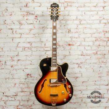 Epiphone Joe Pass Emperor-II PRO Hollow-Body Electric Guitar - Vintage Sunburst x5847