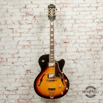 Epiphone Joe Pass Emperor-II PRO Hollow-Body Electric Guitar - Vintage Sunburst x5844