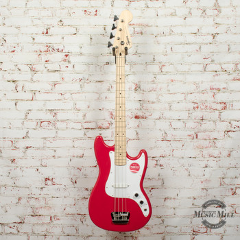 Squier  Bronco™ Bass, Maple Fingerboard, Maple Fingerboard, Torino Red x0091