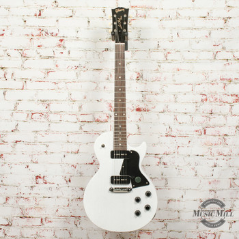 Gibson Les Paul Special Tribute P-90 - Worn White x0344 + FREE HOODED SWEATSHIRT