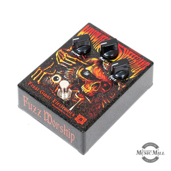"Frost Giant Electronics Saint of Sufferance ""Halloween Edition"" Fuzz Pedal"
