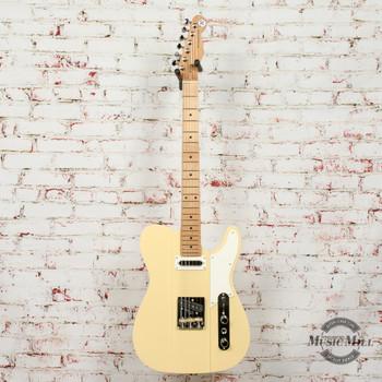 Reverend Greg Koch Signature Gristlemaster Electric Guitar Pow Yellow x0660