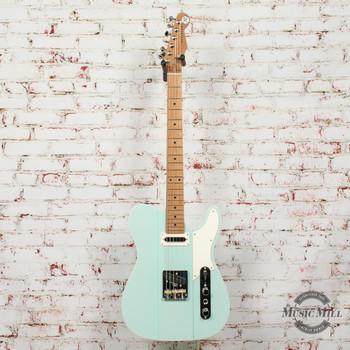 Reverend Greg Koch Signature Gristlemaster Electric Guitar Trans Blucifer x0632