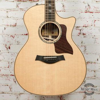 Taylor 814ce V-Class Acoustic/Electric Guitar Natural x0069