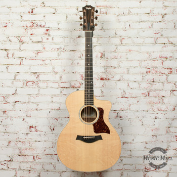 Taylor 214ce Deluxe Prototype Acoustic Electric Guitar Natural x9581