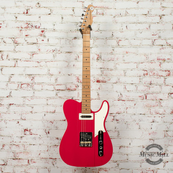 Reverend Greg Koch Signature Gristlemaster Electric Guitar Trans Wow Red x0646