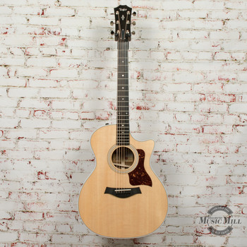 Taylor 414ce - Grand Auditorium Acoustic-Electric Ovangkol Back and Sides, V-class Bracing Guitar x0071