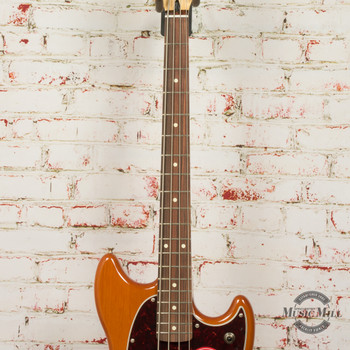 Fender Player Mustang Bass PJ Aged Natural x8075