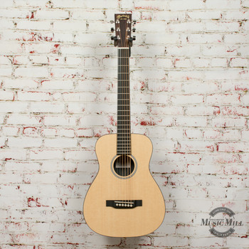 Martin LXML Little Martin Left-Handed Acoustic Guitar Natural x7812