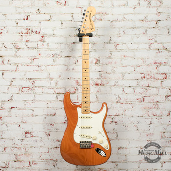 Fender Vintera® '70s Stratocaster® Electric Guitar, Maple Fingerboard, Aged Natural x5456