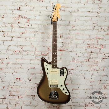 Fender American Ultra Jazzmaster Electric Guitar Mocha Burst x8205