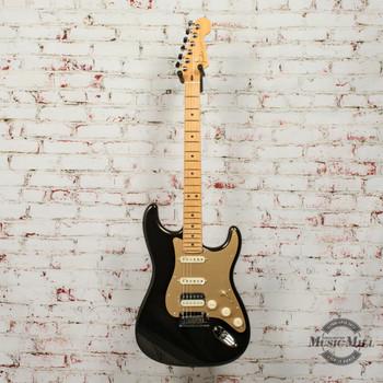 Fender American Ultra Stratocaster HSS Electric Guitar Texas Tea x3932