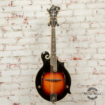 The Loar LM-600-VS F-Style Mandolin, Sunburst x0696 (USED)
