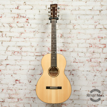 Recording King RP-G6 Solid Top Single O Acoustic Guitar Gloss Natural x2903 (USED)