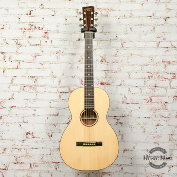 Recording King RP-G6 Solid Top Single O Gloss Natural x1335 (USED)