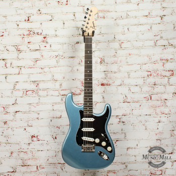 Squier Limited Edition Bullet Stratocaster Lake Placid Blue w/ Texas Specials (USED) x3071
