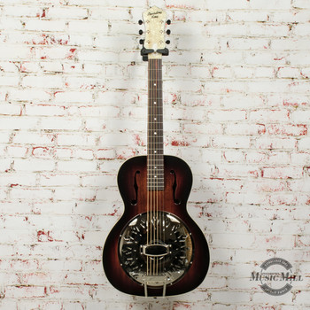 Recording King Biscuit Cone Resonator Acoustic Guitar Small Body (USED) x7407