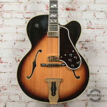 Gibson Vintage 1976 Johnny Smith Hollowbody Double Pickup Electric Guitar Sunburst (USED) x0251