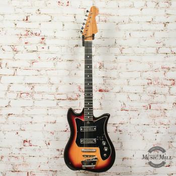 Vintage Teisco ET-200 Dual Pickup Electric Guitar Made in Japan Sunburst (USED) x7645