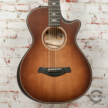 Taylor 652ce Builders Edition 12-String Acoustic/Electric Guitar Wild Honey Burst x0050